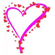 Free Love Heart Stock Image - 8887531