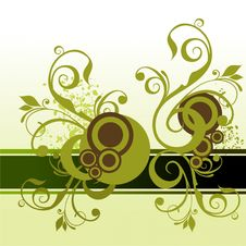 Free Floral Banner Stock Images - 8887844