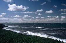 Free Coastline At Mahida,Tunisia Royalty Free Stock Image - 8888086
