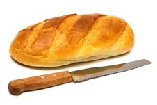 Free Bread And Knife Stock Images - 8888694