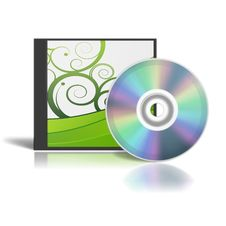 DVD Box Royalty Free Stock Photos