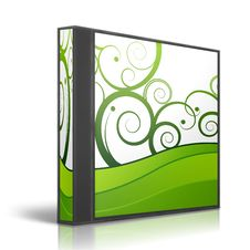 Free Generic DVD Box Royalty Free Stock Photo - 8889615