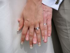 Free Wedding Hands Royalty Free Stock Photography - 8889667