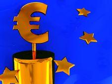 Free Euro Sign Stock Image - 8889831