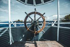 Free Brown Wooden Captain Wheel Royalty Free Stock Photos - 88811958