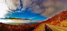 Free Scenic View Of Mountain Road Against Cloudy Sky Royalty Free Stock Image - 88813536
