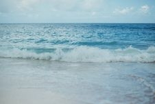 Free Wave On Beach And Open Sea Stock Image - 88813991