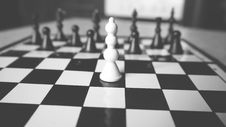Free Chess Board With Focus On White Pawn Stock Image - 88814981