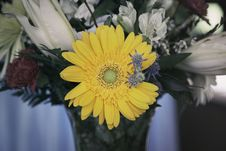 Free Bouquet With Yellow Flower Royalty Free Stock Images - 88815409