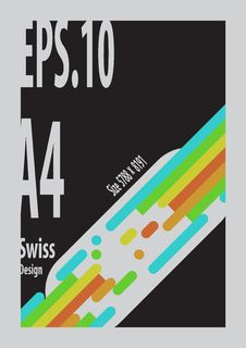 Free Swiss Design `s Shape Form Colorful Stock Photos - 88831683