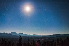 Free Moon During Night Time Royalty Free Stock Photography - 88892997