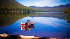 Free Boat On Lake Stock Photography - 88898242
