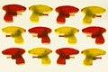 Free Plastic Toy Guns Royalty Free Stock Image - 8890906