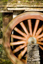 Free Spinning Grist Mill Water Wheel Stock Image - 8892411