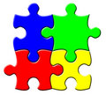 Free Simple Puzzle Royalty Free Stock Photos - 8895498