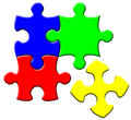 Free Simple Puzzle Stock Photography - 8895512