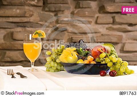Free Breakfast Fruits Stock Photos - 8891763