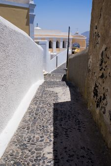 Free Thira, Santorini, Greece Royalty Free Stock Photography - 8890217