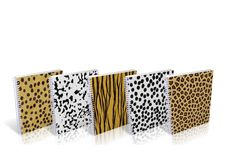 Free Notebook With Design Skin Of Wild Animals Stock Image - 8890601