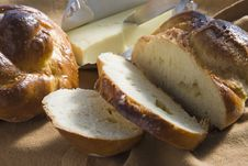 Free Bread And Butter Royalty Free Stock Image - 8890936