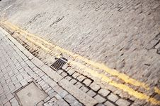 Free Cobbled Street Royalty Free Stock Photography - 8891457