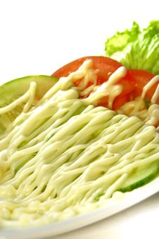 Free Vegetable Salad Series 3 Royalty Free Stock Images - 8891749