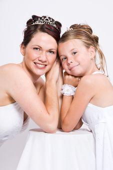 Free White Bride Stock Photos - 8891783