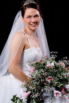 Free White Bride Stock Image - 8891821