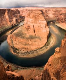 Free Horseshoe Bend Arizona Royalty Free Stock Photo - 8892205