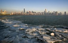 Free Winter In CHicago Royalty Free Stock Images - 8893289