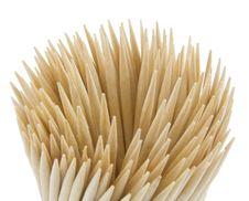 Free Wood Toothpicks Royalty Free Stock Image - 8893636