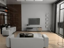 Free Living Room Stock Photography - 8894082