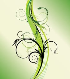 Free Green Background Royalty Free Stock Photos - 8894128