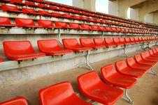 Stadium Chair Stock Photography