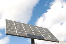 Solar Cells Panel Power Stock Image