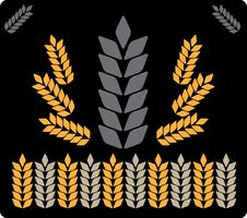 Free Abstract Background Grey Wheat 2 Royalty Free Stock Photography - 8895017