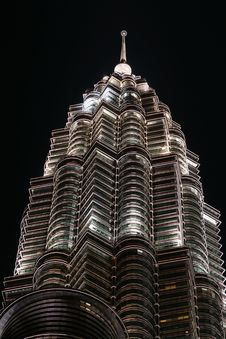 Free KLCC Night Scene Stock Photos - 8896043