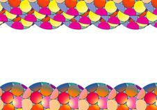 Free Colourful Round Border Royalty Free Stock Images - 8896469
