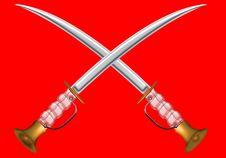 Free Sword Cross Royalty Free Stock Photos - 8896628