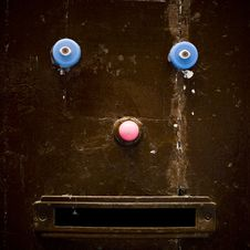 Free Happy Door Stock Photography - 8897662