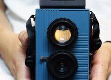Free Toy Camera Stock Image - 8898101