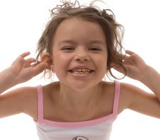 Free Laughing Young Girl Royalty Free Stock Photography - 8898627