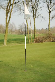 Free Putting Flag Stock Photography - 8898652