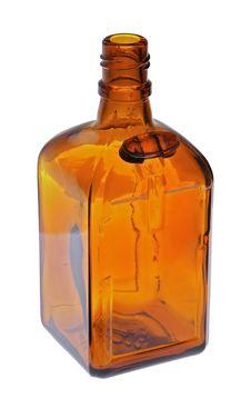 Free Brown Bottle 1 Stock Image - 8898761