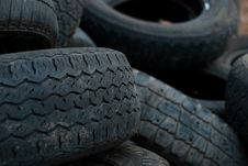 Free Tires Royalty Free Stock Image - 8898826