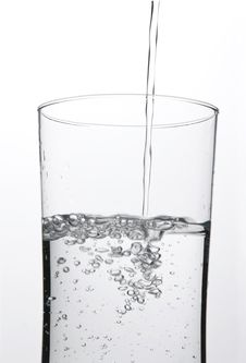 Free Pouring A Glass Of Water Stock Images - 8899134