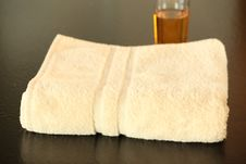 Free Spa Towel Stock Photo - 8899540