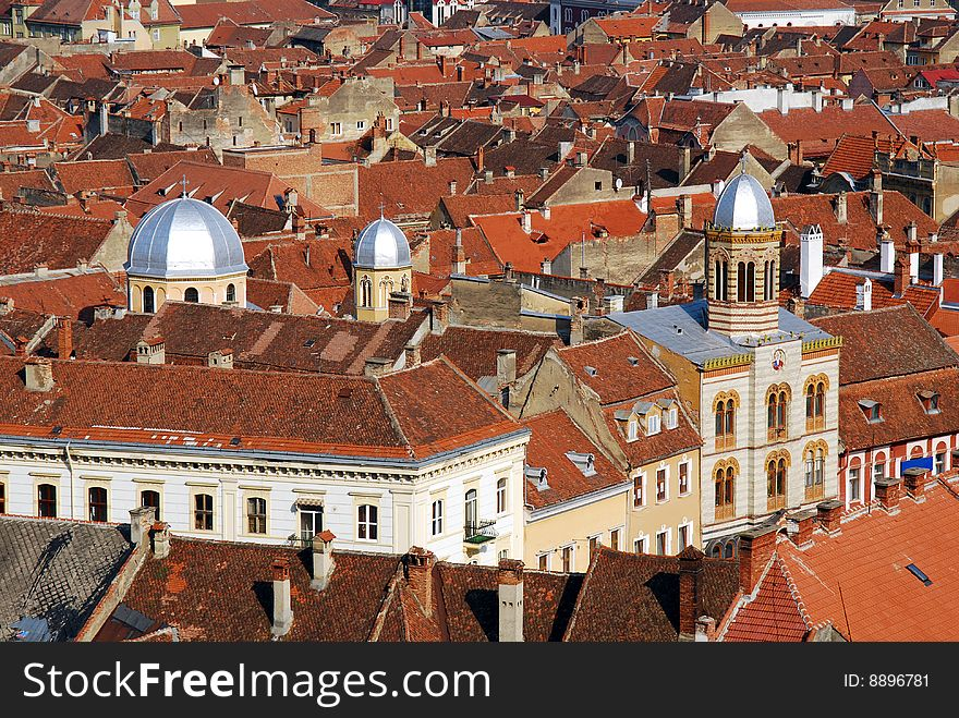 Brasov in Transylvania (Romania)