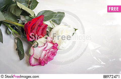 Free Bouquet Of Roses. Stock Image - 88972471