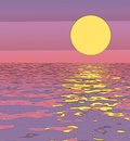 Free Abstract Sunset Royalty Free Stock Photos - 896198